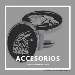 accesorios de juego de tronos