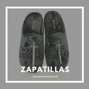 zapatillas juego de tronos